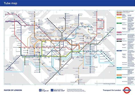 printable version of london tube map a basic guide to living in london the ukister