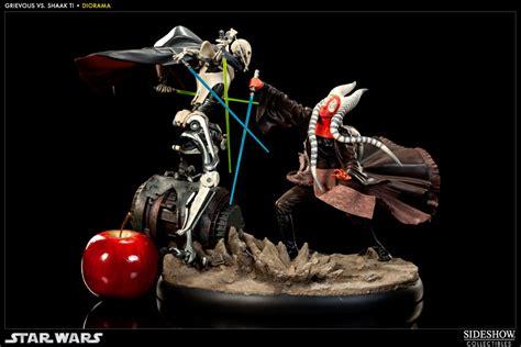 Pin Anime Custom Preorder 1 2 Hari wars general grievous vs shaak ti diorama gallery