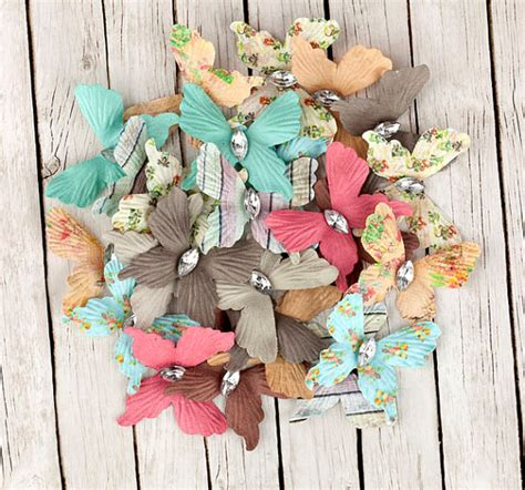crafts using scrapbook paper rhymes paper butterflies with gem for scrapbooking and