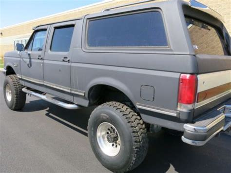 Four Door Bronco For Sale by Sell Used 1989 Ford Bronco Xlt Centurion 4 Door 1 Ton Suv