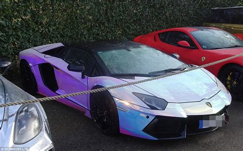 Pierre Emerick Aubameyang Auto by Aubameyang Has Imported Part Of His Car Collection Worth 163