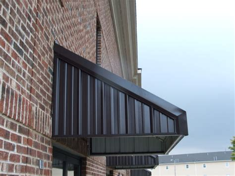 metal deck awning metal awnings overhead deck canopies and standing seam