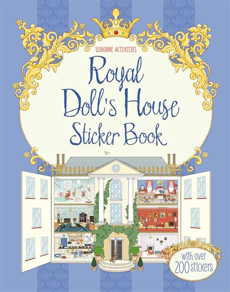 dolls house stickers royal doll s house sticker book at usborne books at home