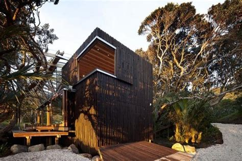 home design blogs nz glass front beach house harmonizes with indigenous