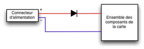 diode de protection inversion de polarité locoduino les diodes classiques