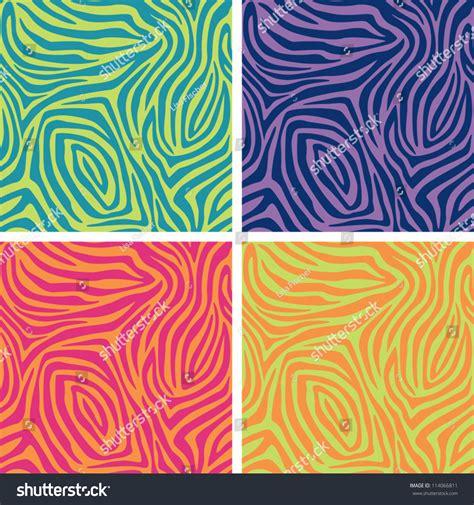 ai pattern stripe zebra stripe pattern in four fashion colorways ai 8 eps