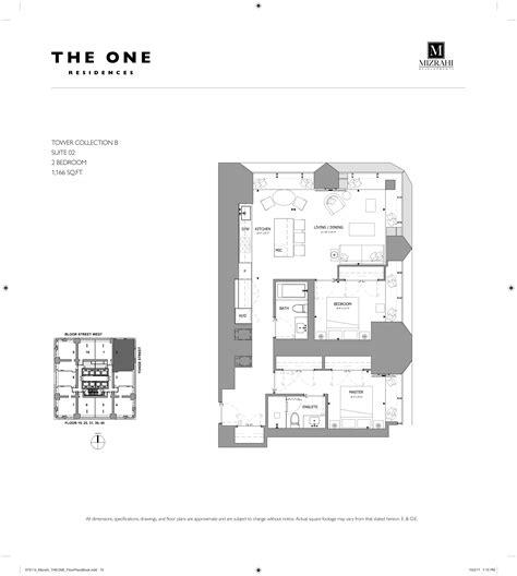 One Bloor Floor Plans by The One Bloor West Pre Construction Toronto Condosky