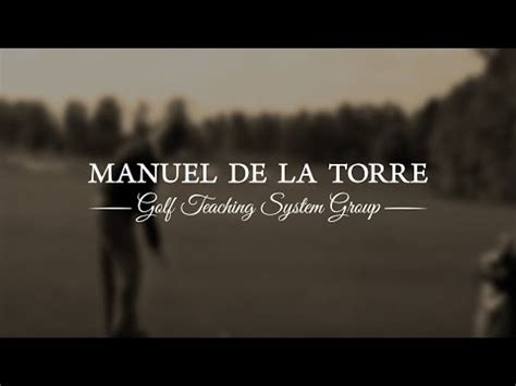 manuel de la torre golf swing manuel de la torre golf swing 1990 youtube