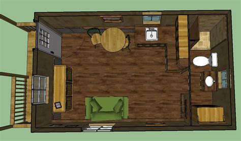 Barn Style House Plans With Wrap Around Porch by Sweatsville 12 X 24 Lofted Barn Cabin In Sketchup