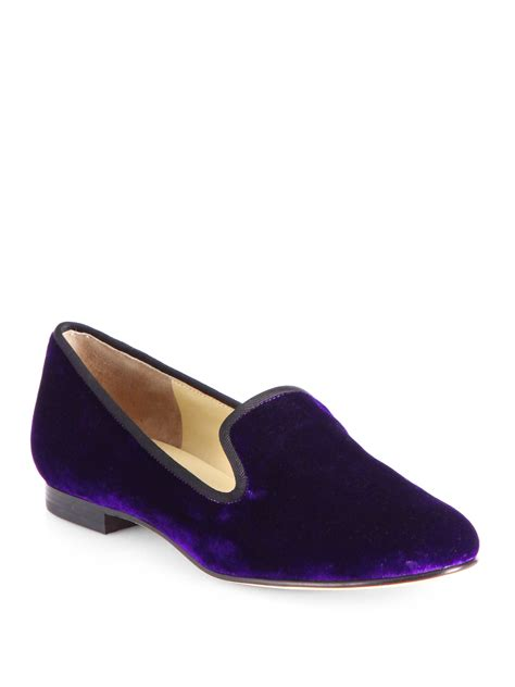 cole haan slippers for cole haan sabrina slippers in purple lyst