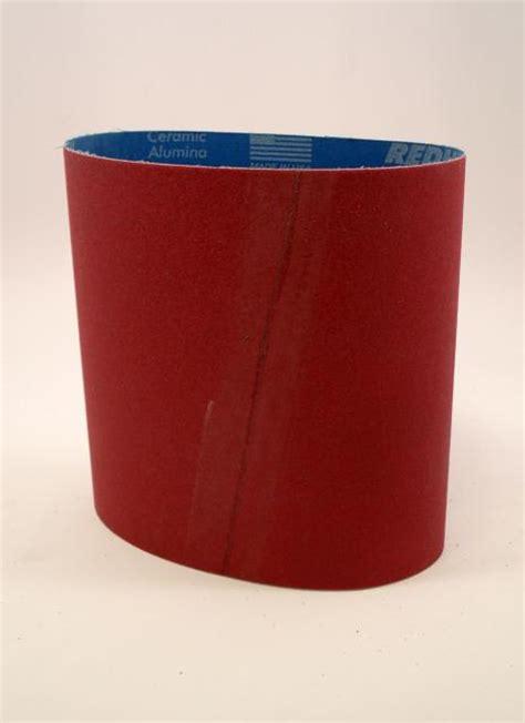 Norton Abrasives 120 Grit Red Heat Floor Sander Belts 8 X