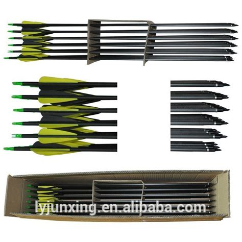 Point Arrow 7 Mm jx030 30 quot carbon arrow with changable point spine 340 diameter 7 5mm for bow view carbon