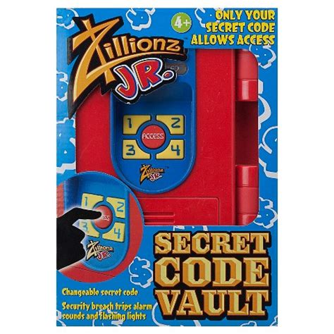 jr secret zillionz jr secret code vault target