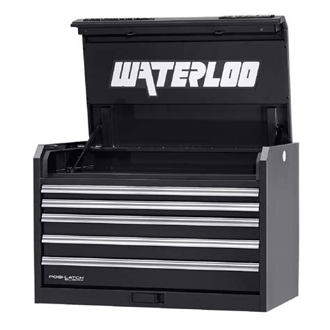 waterloo 5 drawer tool box waterloo pch 36521bk hd 5 drawer steel tool storage