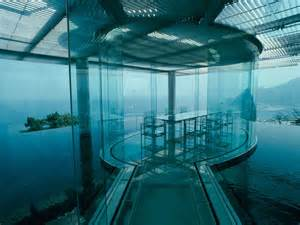 home water water glass house by kengo kuma idesignarch interior