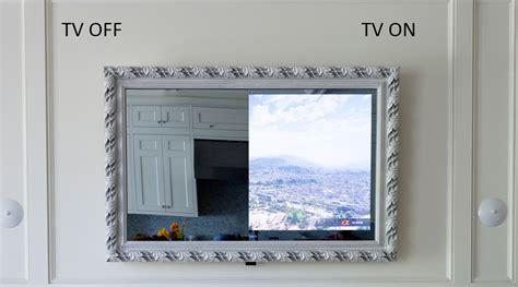 Best Home Design Tv Shows by Framed Vanishing Mirror Tv Lumidesign