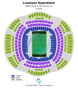 Mercedes Superdome Map Mercedes Superdome Tickets New Orleans