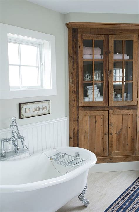 built in cabinets bathroom 30 creative ideas to transform boring bathroom corners