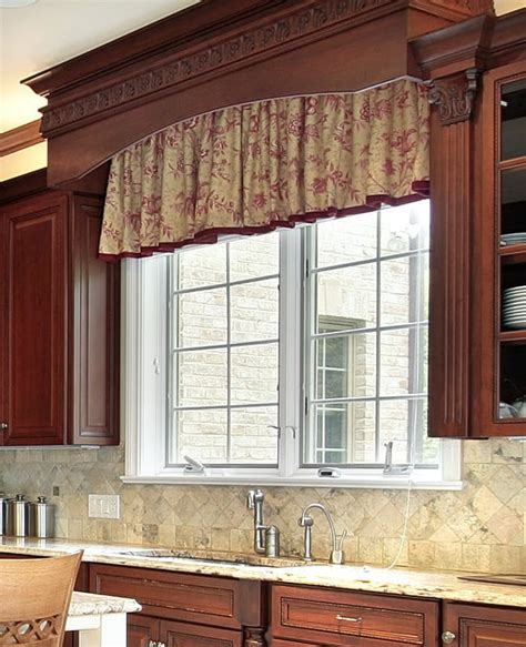 Kitchen Cupboard Cornice - custom valances kitchen sinks 8 styles explained