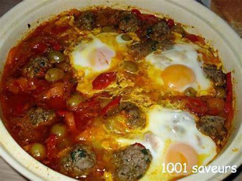 recettes de cuisine marocaine avec photos recette de tajine marocain de kefta et de l 233 gumes
