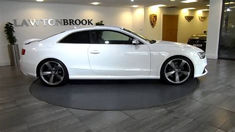Audi Rs5 Coupe Black by Audi Rs5 Coupe White With Black Lawton Brook Youtube