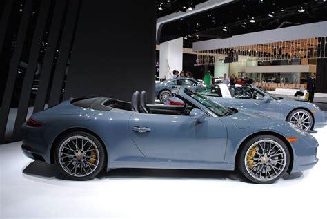 Porsche 911 S Cabriolet by Detroit 2016 Porsche 911 Carrera S Cabriolet Gtspirit