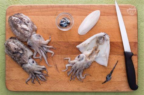come si cucinano le seppioline come pulire le seppie giallozafferano