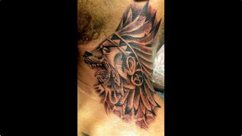 neck tattoo wolf 37 lovely wolf neck tattoos