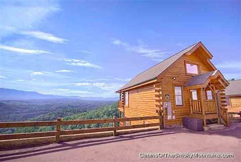 High Mountain Cabin Rentals by Pigeon Forge Cabin Heavenly High 1 Bedroom Sleeps 6