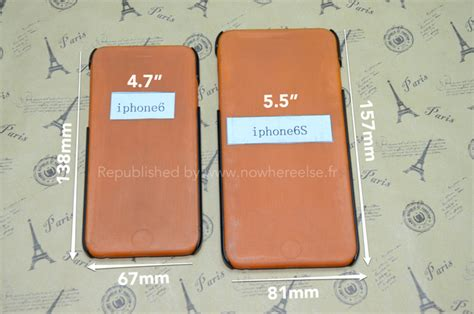for larger 5 5 inch iphone 6 model surfaces with dimensions mac rumors