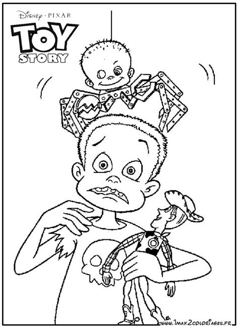 Toy Story The Aliens Coloring Pages Story Coloring Page