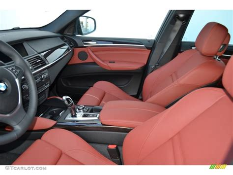 bmw red interior vermillion red interior 2013 bmw x6 xdrive35i photo