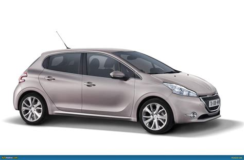 peugeot from ausmotive com 187 2012 peugeot 208 revealed