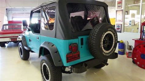 turquoise jeep car 1993 jeep wrangler s 197267 miles turquoise suv i4 2 5l