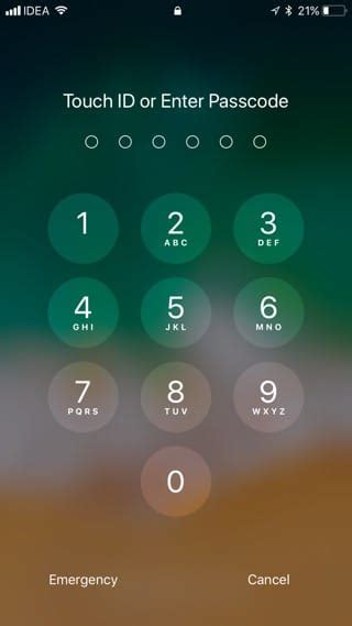 Iphone Passcode Layout | 125 awesome ios 11 features and changes
