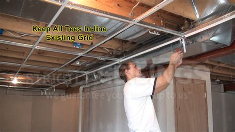 Drop Ceiling Installation Build Basic Suspended Ceiling Drops Drop Ceilings
