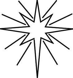 printable moravian star star of bethlehem christmas coloring page christmas