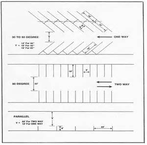 parking garage design standards table parking lot layout dimensions for standard picture