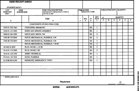 printable 2062 hand receipt 11 best photos of form 710 printable version da form