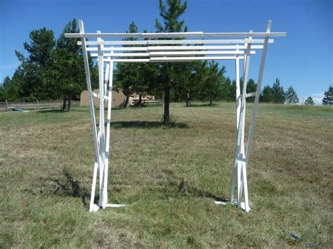 Portable Trellis wood build a portable garden arbor pdf plans