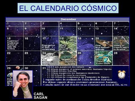Calendario Cosmico Curso De Historia De Espa 241 A