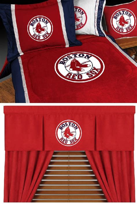 boston red sox comforter mlb boston red sox mvp baseball bedding set