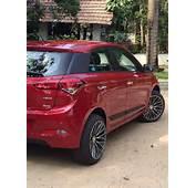 Hottie Draped In Passion Red Hyundai Elite I20 Asta D