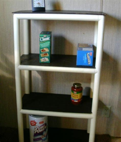 pvc pipe shelves images
