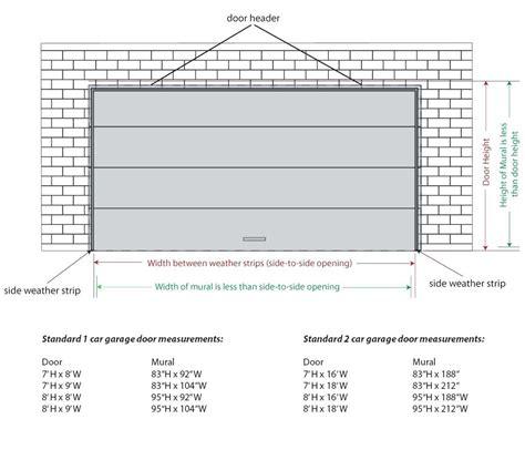 standard single garage door size single garage door size south africa wageuzi