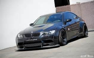 schwartz bmw m3 with liberty walk widebody kit