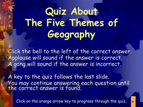 5 themes quiz ppt 5 themes of geography powerpoint presentation id