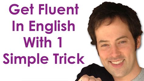 1 Simple Trick To Create - get fluent with 1 trick become a confident