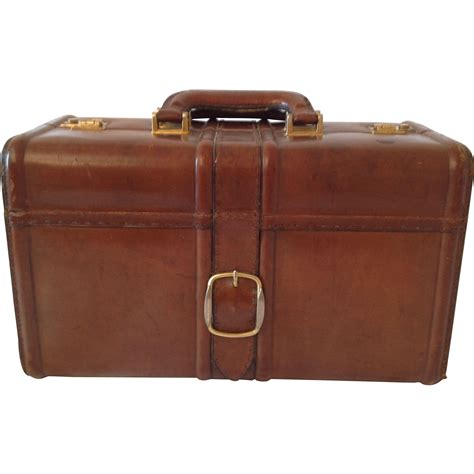 beautiful suitcases beautiful vintage french real leather suitcase from
