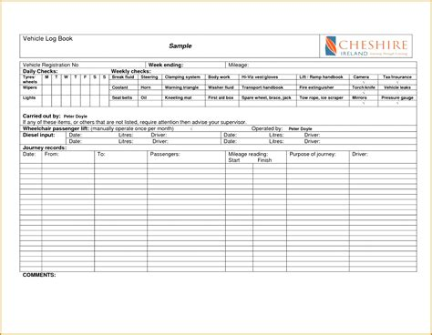 truck driver log book template 4 drivers log book template fabtemplatez
